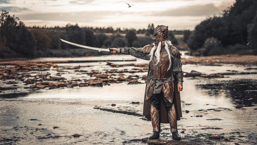 Эльфийский доспех / Elven Armour Set