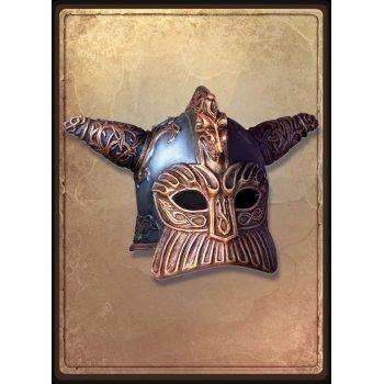 Гномий шлем с рогами / Dwarf helmet with horns
