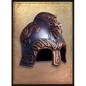 Гномий шлем с птицей / dwarf helmet bird