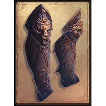 Античные поножи / Antique Warrior Greaves