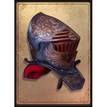 Шлем и горжет падшего паладина / Fallen paladin Helmet with gorjet