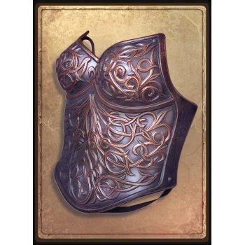 Женская кираса открытая / Female breastplate open