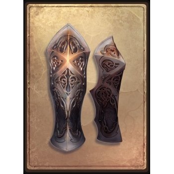 Наручи готического рыцаря / Gothic Knight Bracers